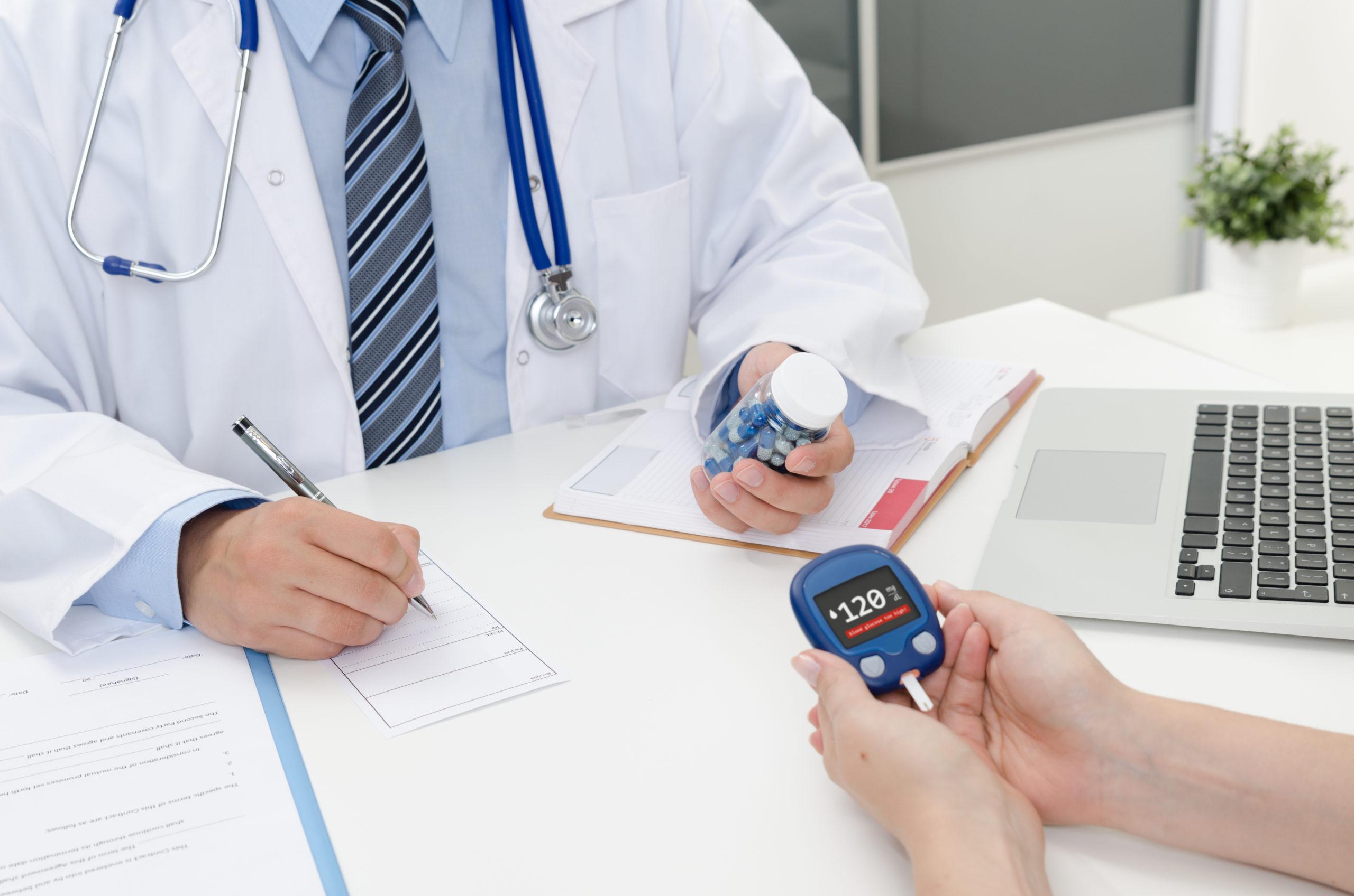 konsultacji diabetologicznej (wymaga aktualnego skierowania)